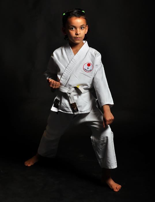 Karate is een gepaste uitlaatklep voor kinderen